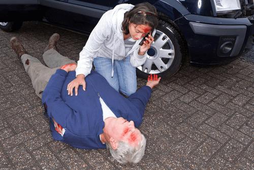 autounfall verhalten