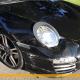 porsche 997 schwarz frontschaden autounfall