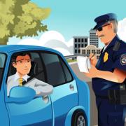 punktesystem autofahrer comic