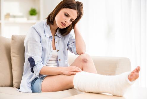 schmerzensgeld nach unfall beinbruch