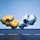 verkehrsunfall spielzeugautos